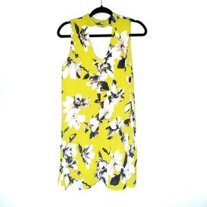 Peppermint Yellow floral Tunic Dress